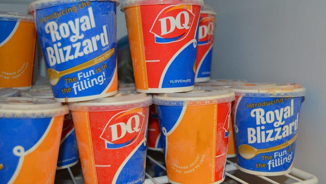 To celebrate Miracle Treat Day, the faculty at Christus St. Frances Cabrini hospital ordered nearly 300 blizzard treats to be delivered to the hospital.