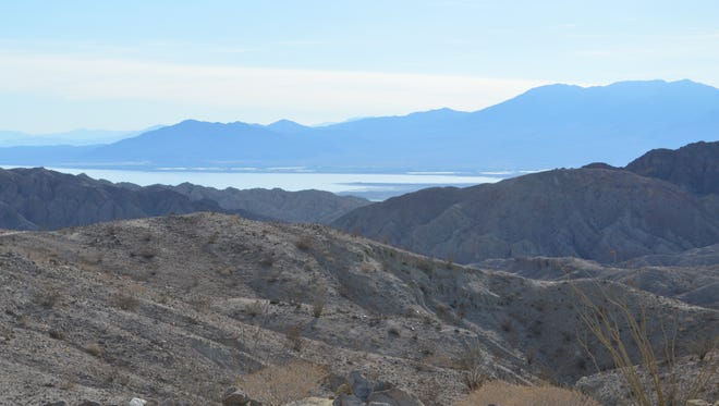 """The Painted Canyons, located within the Mecca Hills wilderness area in Riverside County is on federal land overseen by the Bureau of Land Management. Major movies have shot scenes in the area. """"Ben-Hur"""" coming out Aug. 19 is the latest to use the area for filming."""