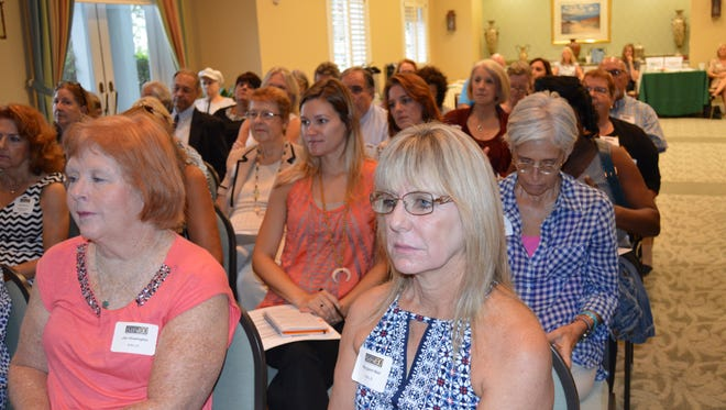 There wasn't an empty seat in the house during the Indian River Impact 100 Area NonProfit Informational Meeting.