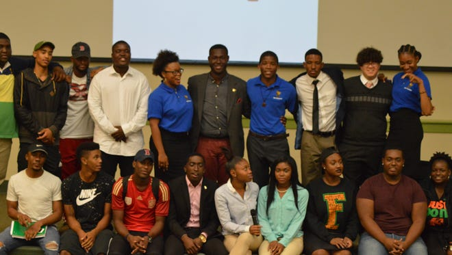 """FAMU students attend the """"Why My Story Is Important"""" event."""