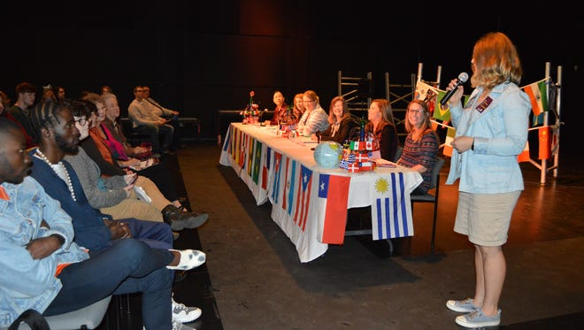 LSUA welcomed a panel of female speakers from Central Louisiana to speak on International Women's Day.