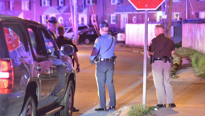 The teen was injured in the Edgemoor community within Fox Point Sunday night.