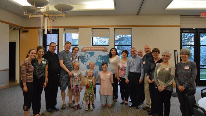 Parishioners from St James Catholic Church in Novi walked a collective 35,000 miles while participating in the 12-week virtual program.