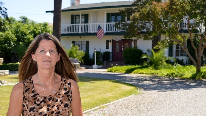 Lisa Schultz is the owner of Plantation Bed and Breakfast in Lemon Cove.