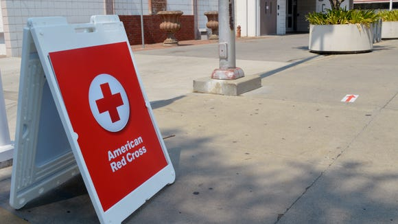 Porterville College is the only American Red Cross shelter for Pier Fire evacuees. It is open 24-hours a day.