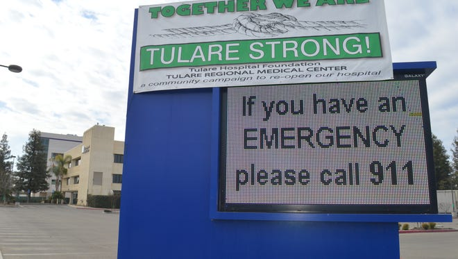 Tulare Regional Medical Center, 869 N. Cherry St., Tulare,