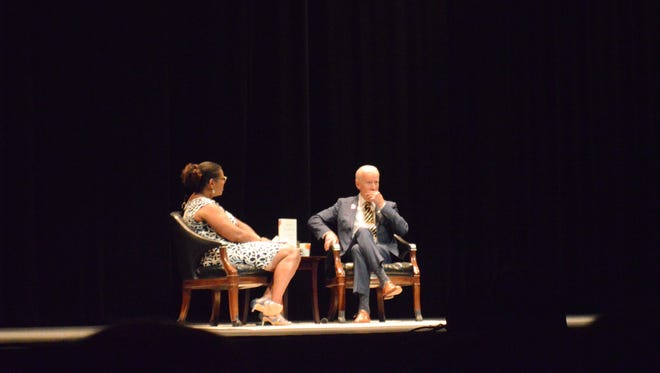 Joe Biden spoke about politics and family. He was at the Orpheum Friday for his American Promise Tour.