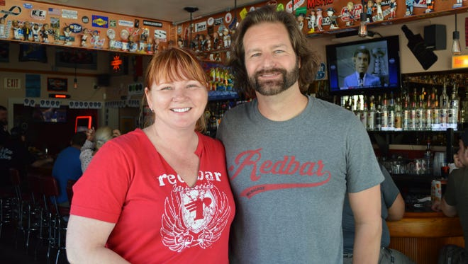 Carrie Wisniewski and Nick Schell opened Redbar in St. Francis six years ago.