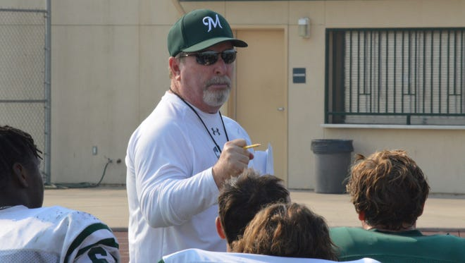 Mark Rogers is the head coach of the El Diamante Miners' football team.