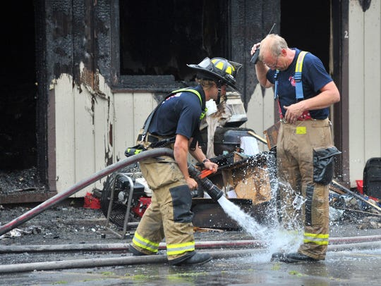 Fire damages Ponderosa Motel Monday afternoon in Wausau.