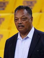 Civil rights leader Jesse Jackson