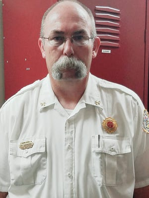 Jeff Blackledge, Clinton Fire Chief