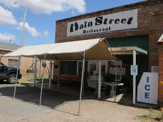 Grab a bite to eat at The Main Street Restaurant, Gilliam