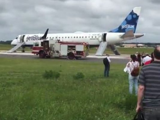 JetBlue Emergency landing