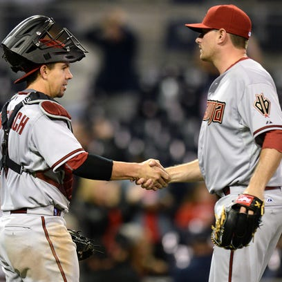 Apr 13, 2015: Arizona Diamondbacks pitcher Daniel Hudson