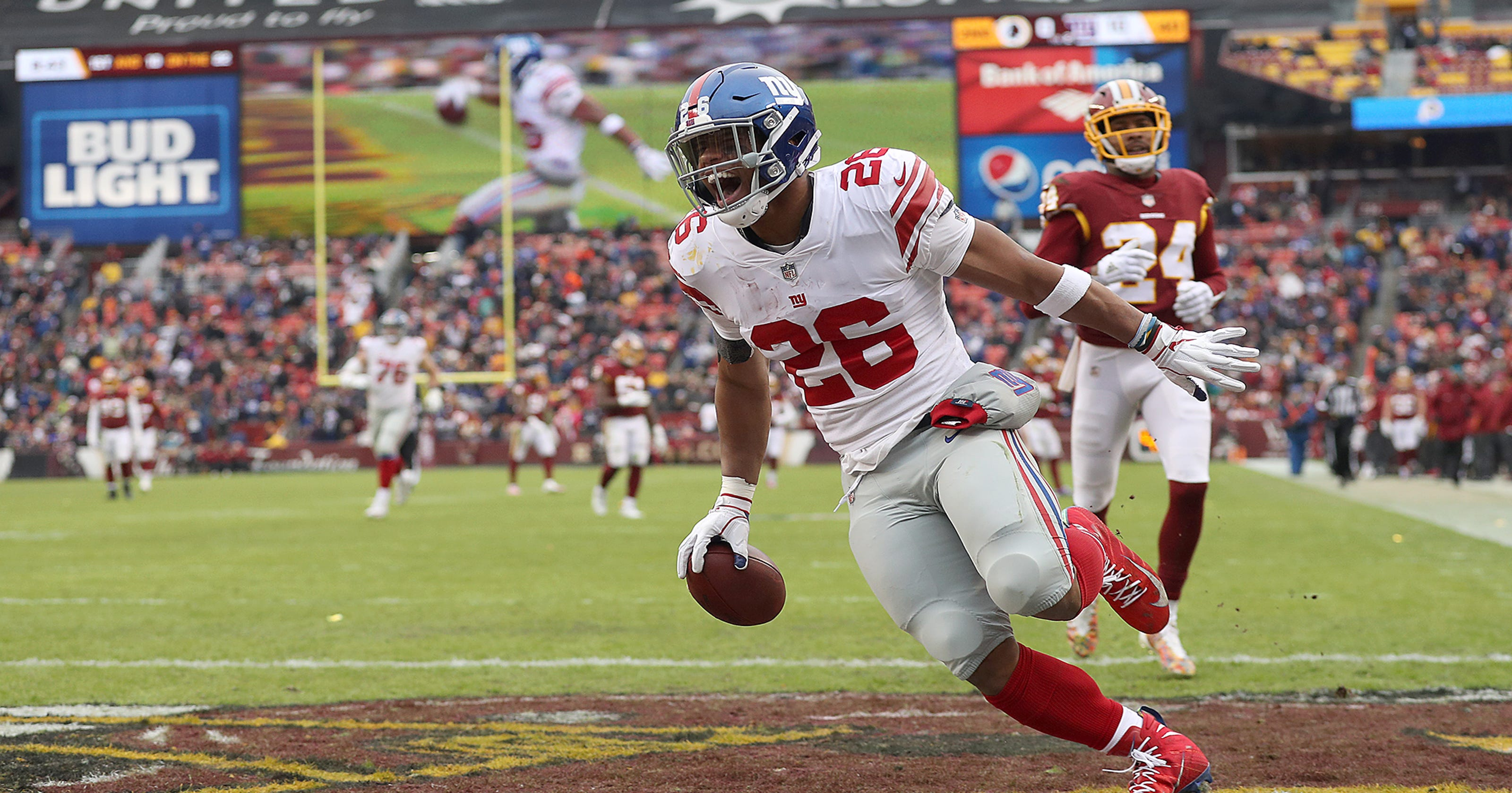 Saquon Barkley is first Giants rookie running back voted to Pro Bowl since  1965 1b4b2b755