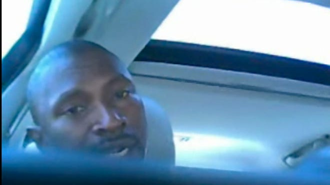 "One of the suspects in an ATF ""stash house"" sting in San Diego, captured on a hidden camera inside an undercover agent's car."