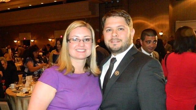 Kate and  Ruben Gallego