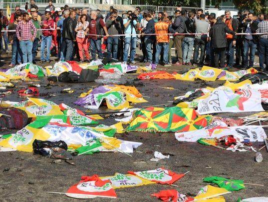 Turkey Ankara blast