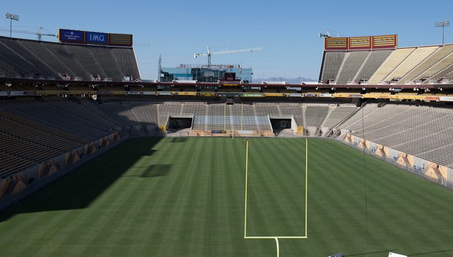Arizona State began a $50 million fundraising drive in January for what it is calling the reinvention of 56-year-old Sun Devil Stadium.