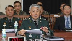 Lt. Gen. Kim Hwang-rok, head of the Defense Ministry's
