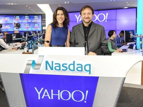 Chief Revenue Office of Yahoo Lisa Utzschneider and