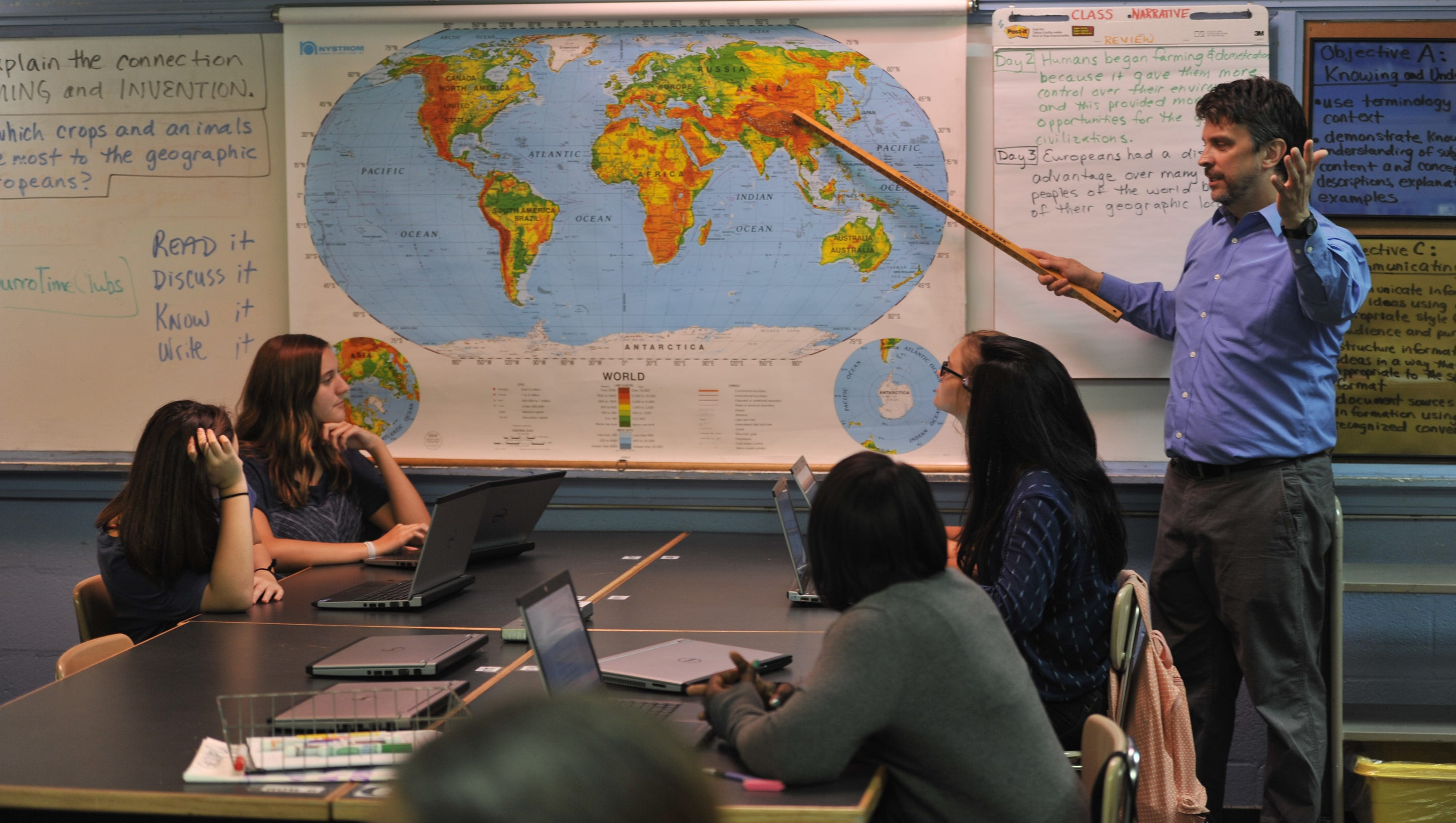 Classroom time spent on social studies varies widely across Tennessee