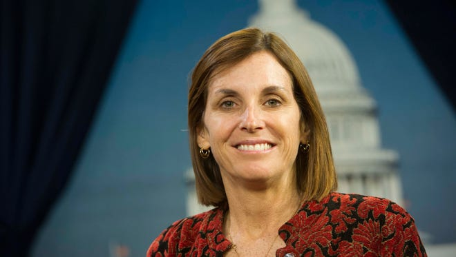 Rep. Martha McSally, R-Ariz., is pictured in January 2015. McSally wants to be a point person for women's issues in the Republican party.