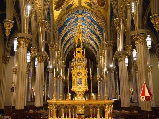 Notre Dame University basilica.