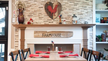 The Farmhouse, winery team up for Wine Down dinner