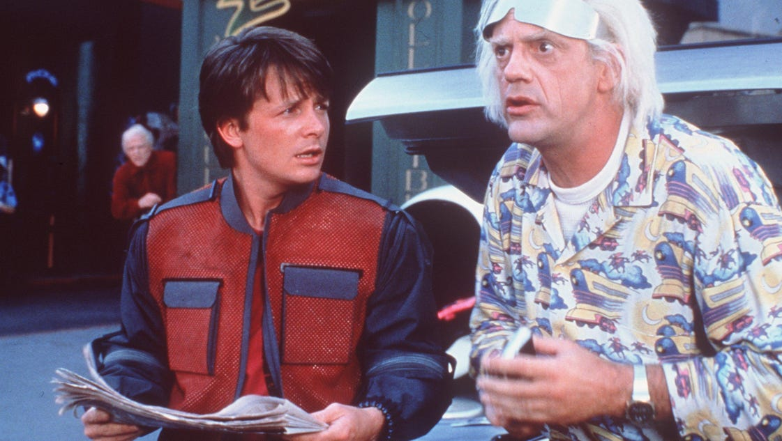 Back to the future 2015 date