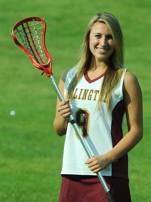 Arlington's Danielle Axelrod was named the Journal's 2012 Girls Lacrosse Player of the Year