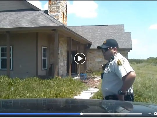 Dash cam footage shows Jim Wells County Sheriff's deputy