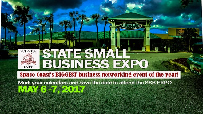 the State Business Expo is  May 6-7 Melbourne Square mall.