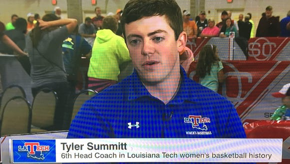 Tyler Summitt made a live appearance on ESPN on Saturday