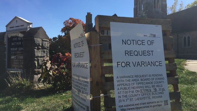 University Lutheran Church at Chauncey Avenue and State Street is asking for a zoning variance to make way for expansion plans at the 70-year-old building.
