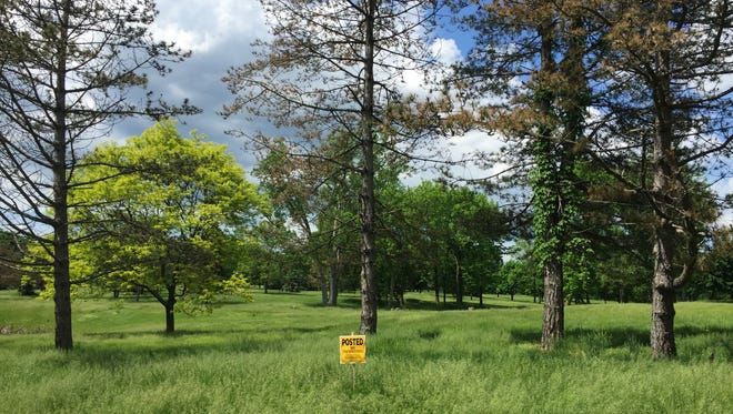 The future of the land where Shadow Pines Golf Course, as seen about a month ago, has become a hot topic in Penfield. The course has been up for sale for several months.