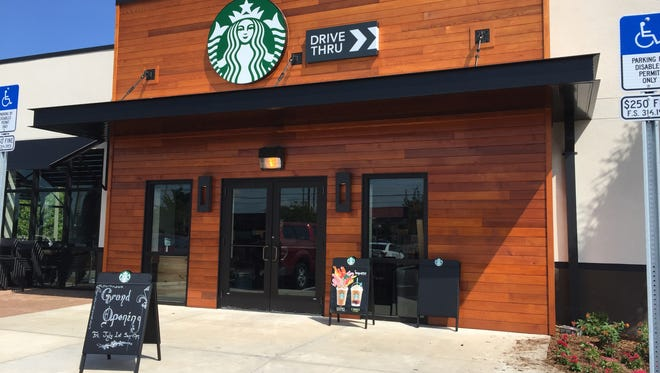 Starbucks, located at 3570 Cheney Highway, is set to open Friday.