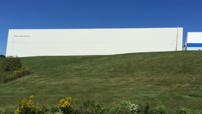 Tax breaks were given for this  Penguin Putnam addition in Kirkwood, but as the term of the agreement neared its end, the company abandoned the facility.