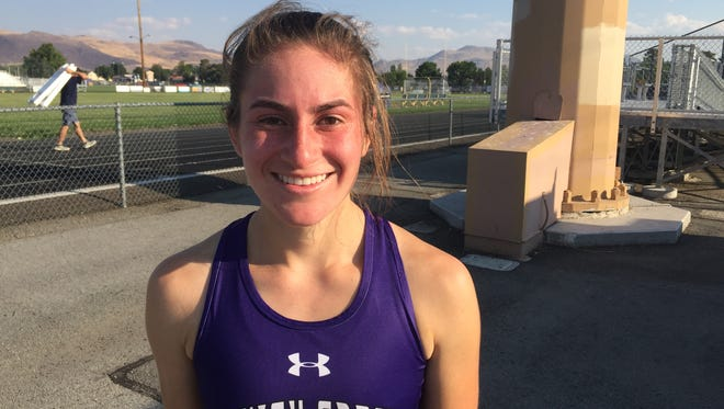 Spanish Springs senior Alexis Melendrez was second at the league cross country meet last week.
