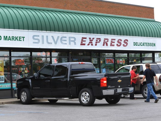 Silver Express at 8328 W. 10th Street in Indianapolis