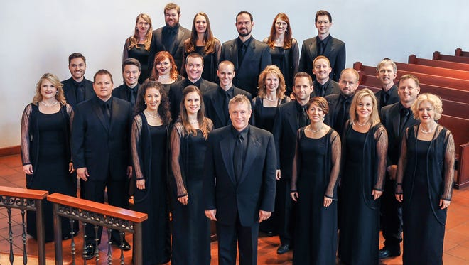Charles Bruffy and members of the Phoenix Chorale from 2014.