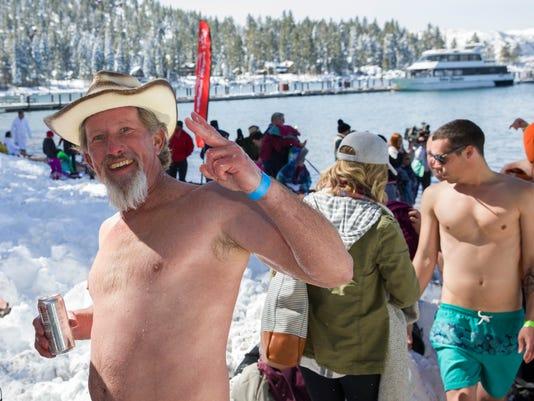 Polar Plunge Lake Tahoe
