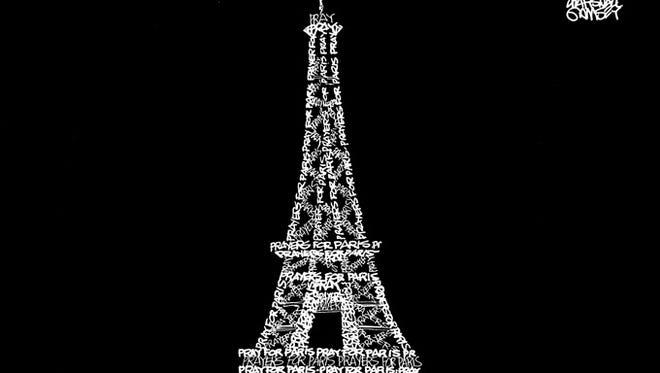 """""""Prayers for Paris"""""""