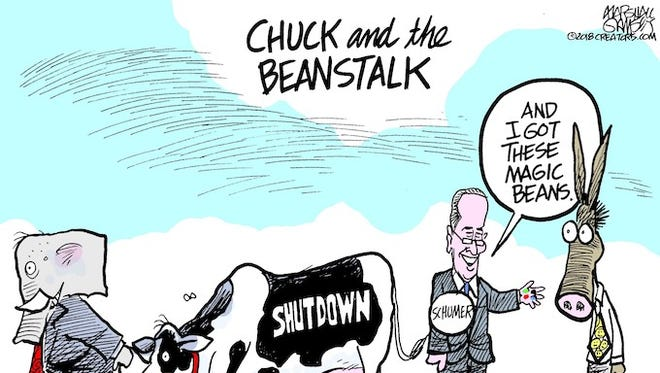 Chuck and the Beanstalk