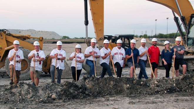 Representatives from the Melissa City Council, Economic Development Board, 4B Community and others recently came together for the official groundbreaking of the Z-Plex Texas Sports Village Phase 3, which will include a fully contained indoor facility for training, lodging, dining and development of baseball players from across the country.
