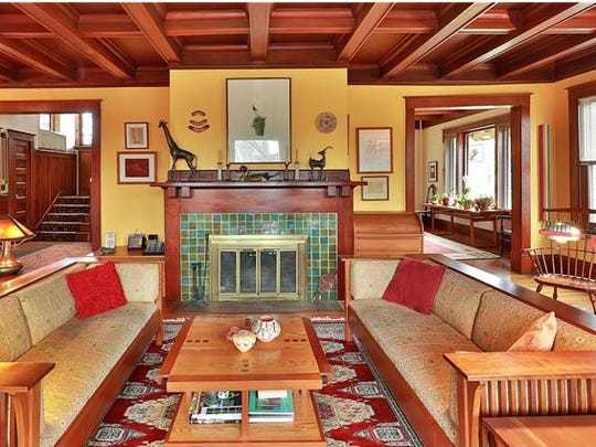A restored Arts * Crafts style home is on the market in White Plains.