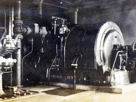 This is a piece of the Chambersburg Electric Department's equipment around 1900.