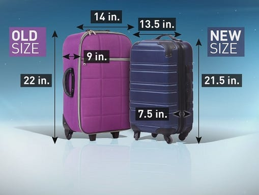 New Airline Carry On Guidelines