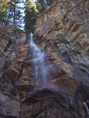 Cataract Falls are located within Helena-Lewis and Clark National Forest. A man from Great Falls died Sunday while ice climbing there.